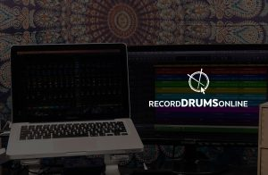 Record drums online, contact