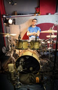 Record drums online chris