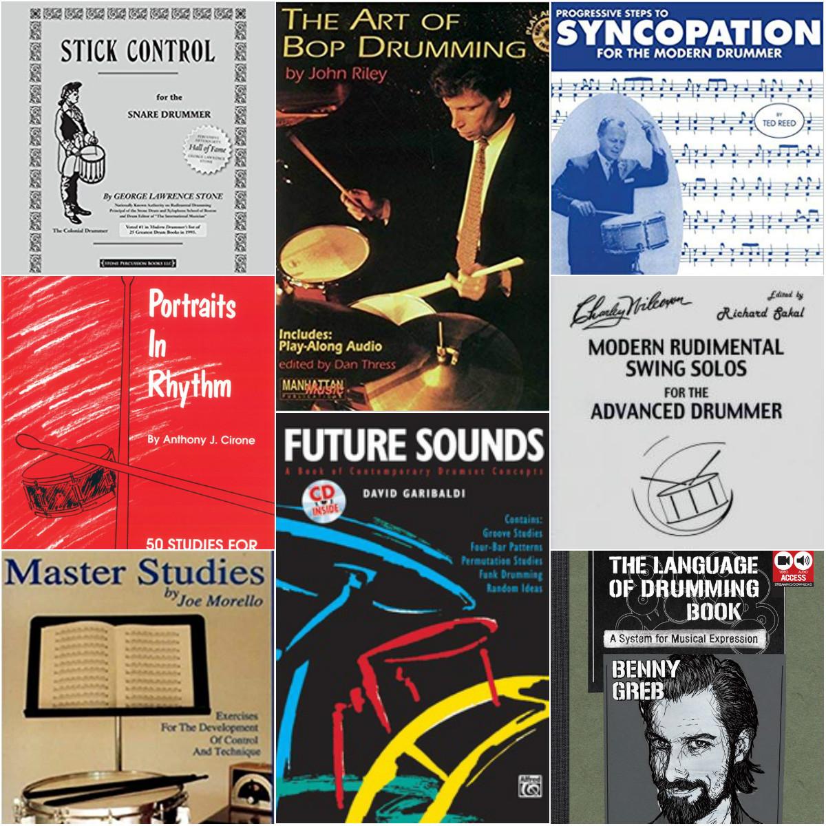 My Favourite Drum Books